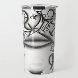 stick figures Travel Mug