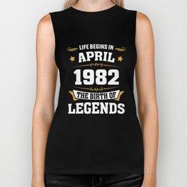 April 1982 36 the birth of Legends Biker Tank