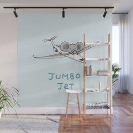 Jumbo Jet Wall Mural