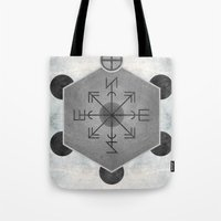 compass Tote Bags featuring Compass by Joris182
