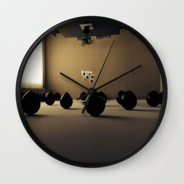 Float II Wall Clock