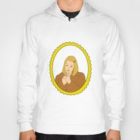 tenenbaum Hoodies featuring Margot Tenenbaum by Whiteland