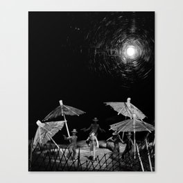 On the Front Canvas Print