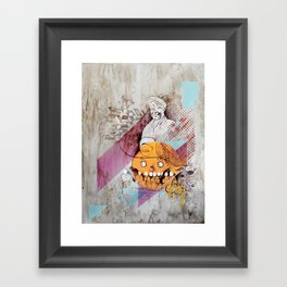 """...think about the stories that we could have told"" Framed Art Print"