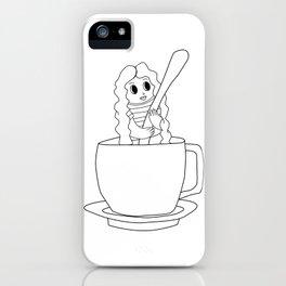 Biondina Caffè iPhone Case