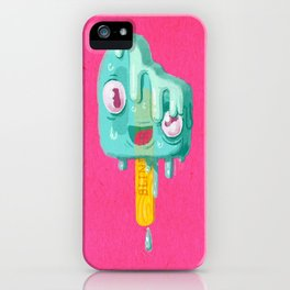 Melty Popsicle iPhone Case