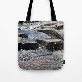 Trickle on Down Tote Bag