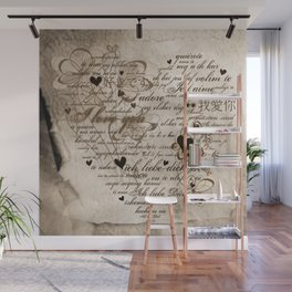 Ich liebe Dich -  I love you Wall Mural