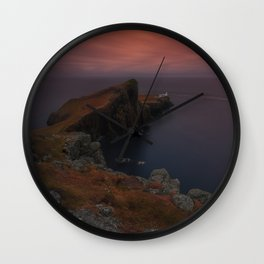 At The Far West Wall Clock