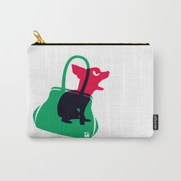 Angry animals: chihuahua - little green bag Carry-All Pouch