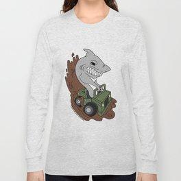 JACKSON AREA WHEELERS Official Logo Long Sleeve T-shirt
