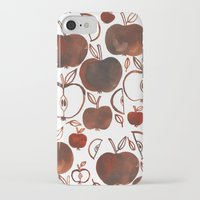 oana befort iPhone & iPod Cases featuring NOT GRANNY'S APPLES by Oana Befort