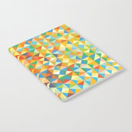 Triangles & Colors Notebook
