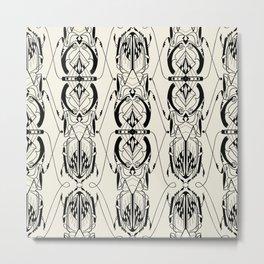 Beetle Deco Metal Print