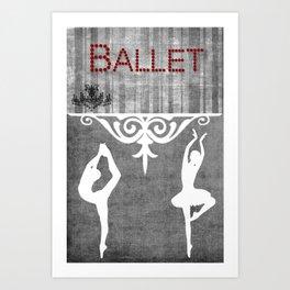 Ballet Series 1 Art Print