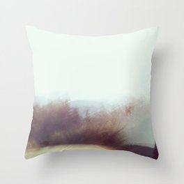 The Road the Road Again Throw Pillow