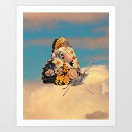 Butterlfy Motif Art Print