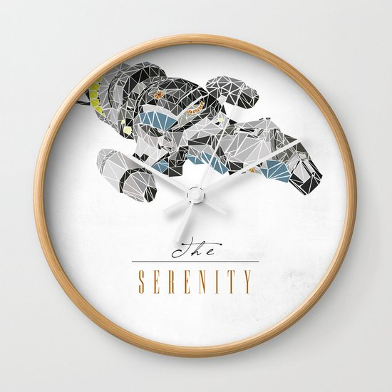 The Serenity Wall Clock