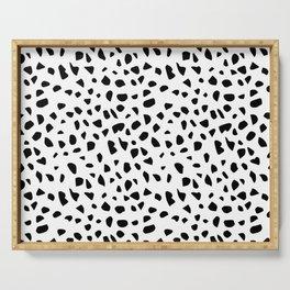 Dalmatian Print Serving Tray