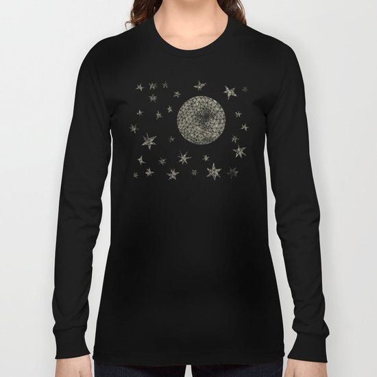 Moon and Stars Long Sleeve T-shirt
