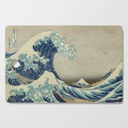 Ukiyo-e, Under the Wave off Kanagawa, Katsushika Hokusai Cutting Board