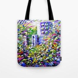 Country Garden Retreat Tote Bag