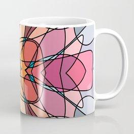 Abstract Curves #3 - Crowned Bug Coffee Mug