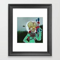 MARS ATTACKS Framed Art Print