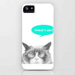 Peekaboo, I see you! iPhone Case
