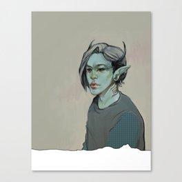 Monster #2 Canvas Print