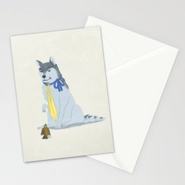 Wolf Hanzo and Sparrow Genji Stationery Cards