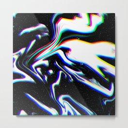 Door Dark Metal Print