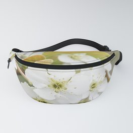Pear Blossoms Fanny Pack