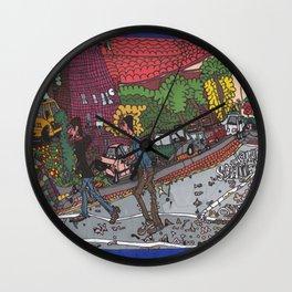Jills Street - New York Wall Clock
