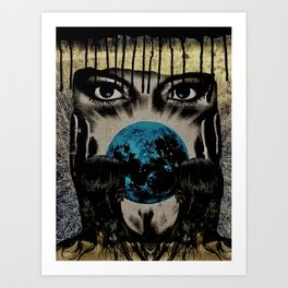 End of Enigma Art Print