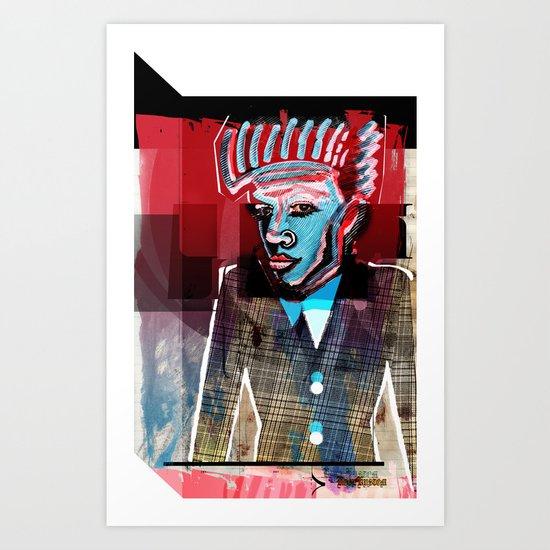 Re'JIVENATED Art Print