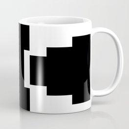 black and white pyramid Coffee Mug