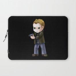 Chibi Dean Winchester (Black BG) Laptop Sleeve