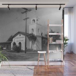 Mission Santa Cruz Wall Mural
