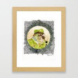 The Birdy Dozen 3 Framed Art Print
