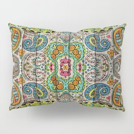 Kashmir on Wood 03 Pillow Sham