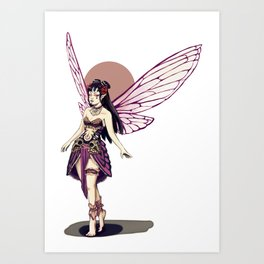 Ajna Step Art Print