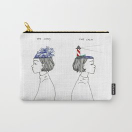 The Chaos and The Calm Carry-All Pouch
