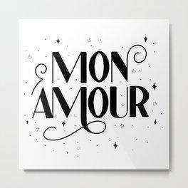 Mon Amour Metal Print