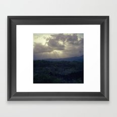 Calm after the Storm Framed Art Print