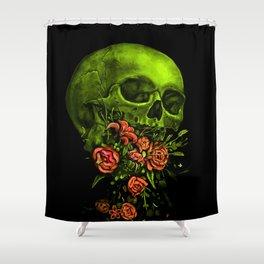 Vomit Shower Curtain