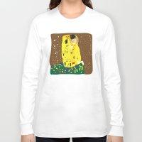 gustav klimt Long Sleeve T-shirts featuring klimt by John Sailor