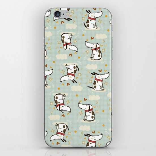 DOGGY IN THE SKY iPhone & iPod Skin