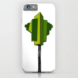 GREEN TREE iPhone Case