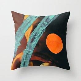 Splashed Throw Pillow
